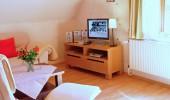 Ferienwohnung Hein St Peter Ording Dorf Wohnzimmer TV