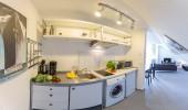 Ferienwohnung Loreley 53 St. Peter Bad Küche Waschmaschine