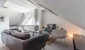 Ferienwohnung Loreley 53 St. Peter Bad Wohnzimmer Doppelbett