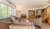 Ferienwohnung Achtern Diek Wohnzimmer