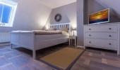 Ferienwohnung Dünenzauber Schlafzimmer