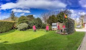 Ferienwohnung Joli St Peter Ording Dorf Garten