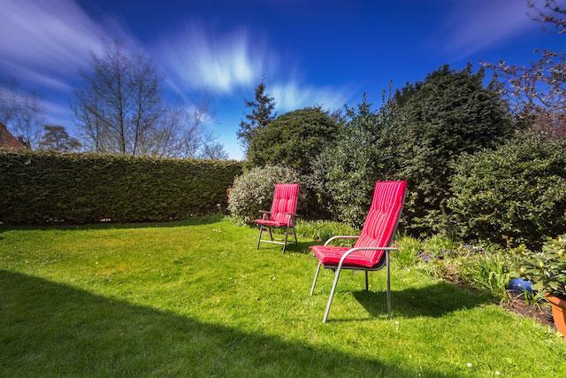 Ferienwohnung Joli St Peter Ording Dorf Garten Sitzmöglichkeit