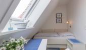 Ferienwohnung Magisterhof App.1 St. Peter Dorf Hund Einzelbettschlafzimmer