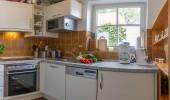 Ferienwohnung Magisterhof App.1 St. Peter Dorf Hund Küche