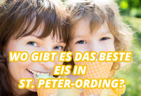 St Peter Ording Tipp - Das beste Eis