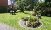 Ferienwohnung Wiebke St. Peter-Dorf Gartenbank