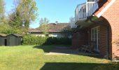 Ferienwohnung Friesenzauber Terrasse