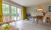 Ferienwohnung Friesenjung Wohnzimmer