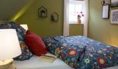 Schlafzimmer Ferienwohnung Möwe
