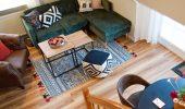 Wohnzimmer Ferienwohnung Möwe