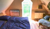Ferienwohnung Auster Schlafzimmer