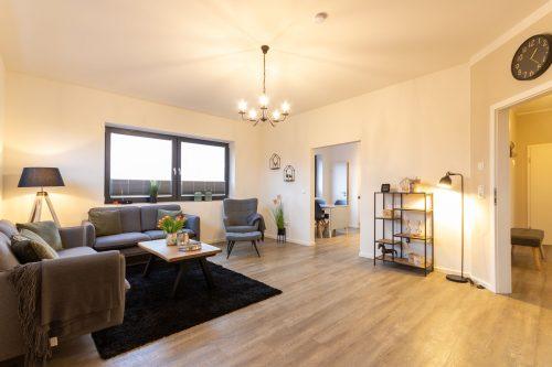 Ferienwohnung Deck 36 Wohnzimmer