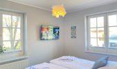 Ferienwohnung Nordseeliebe Schlafzimmer